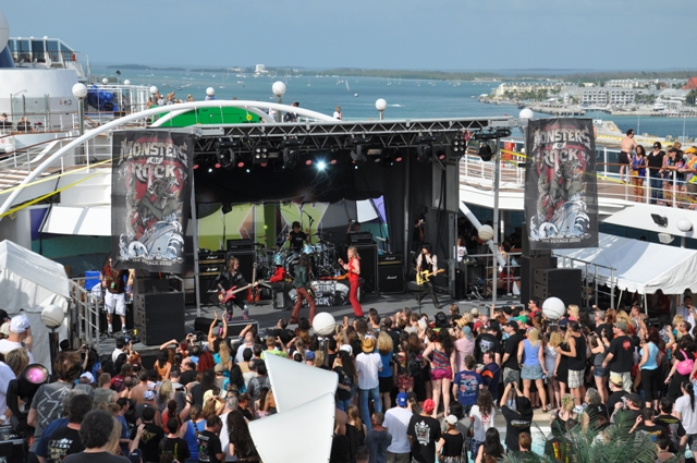 The Rock Pit Hard Rock Metal And Blues Interviews News - Rocking cruise ship