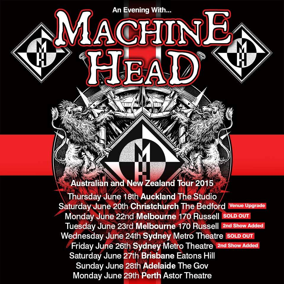 machine tour dates 2015