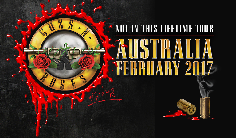guns and roses concert 2017