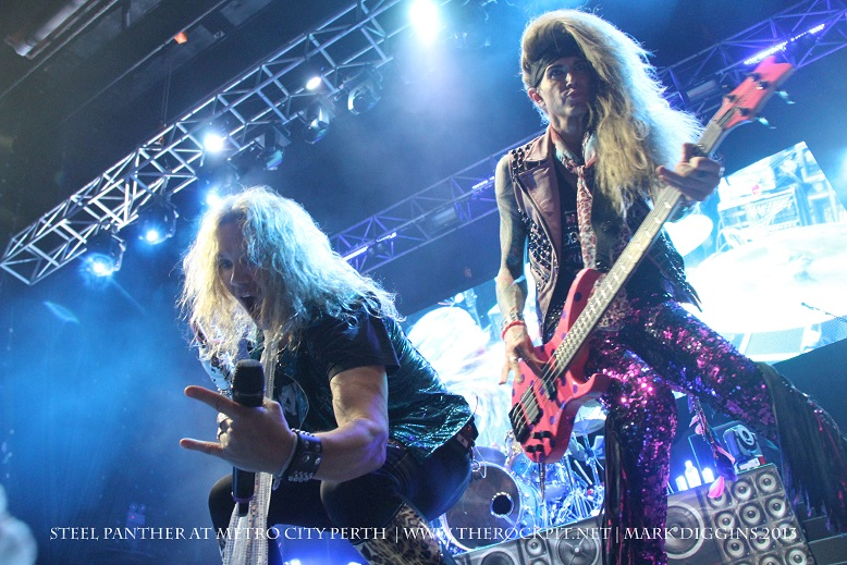 Steel Panther Australia Review 2013