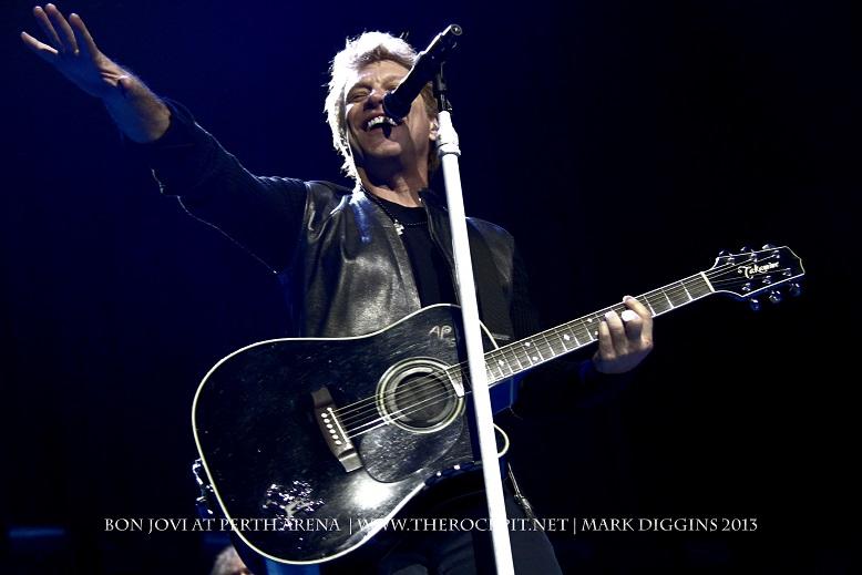 Bon Jovi Setlist For Because We Can Tour