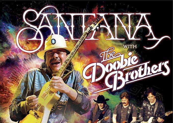 Carlos Santana and The Doobie Brothers