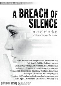 A Breach Of Silence Australian tour 2017