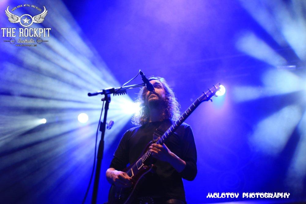Opeth Perth Australia 2017