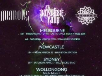 Trojans Australian tour 2017