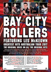Bay City Rollers Australian tour 2017