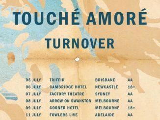 Touche Amore Australia tour 2017