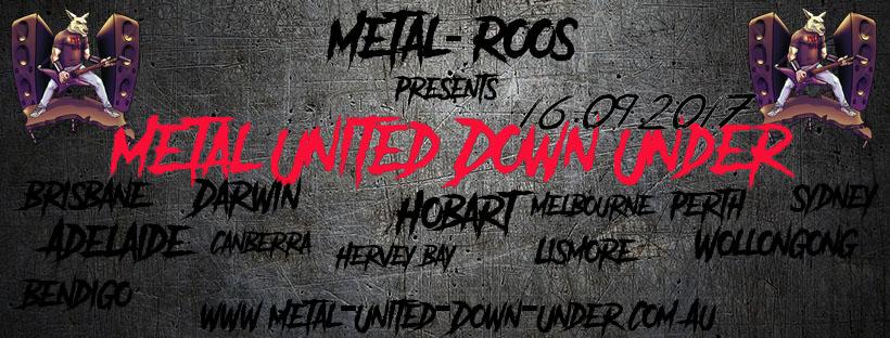 Metal United Down Under 2017