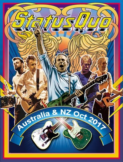 Status Quo Australian tour 2017