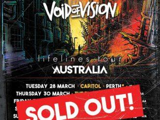 I Prevail Australian tour 2017
