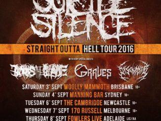 Suicide Silence Australia tour 2016