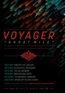 Voyager Australian tour 2017