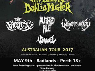 Black Dahlia Murder Perth show