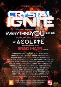 Crystal Ignite tour