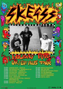 Skeggs Announce The Holiday Food Ep Tour Amp Drop New Video