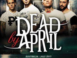 Dead By April Australia tour 2017