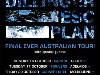 Dillinger Escape Plan Australia tour 2017