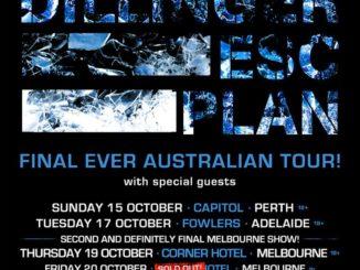 Dillinger Escape Plan Australian tour 2017