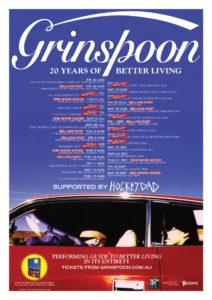 Grinspoon Australian tour 2017