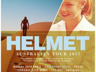 Helmet Australian tour 2017