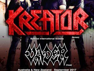 Kreator - Vader - Australian tour 2017