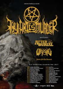 Thy Art Is Murder european tour