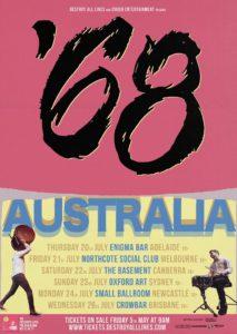 '68 Australian tour