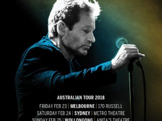 David Duchovny Australian tour 2018