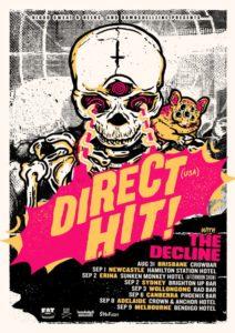 Direct Hit Australian tour