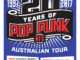 New Found Glory Australian tour 2017