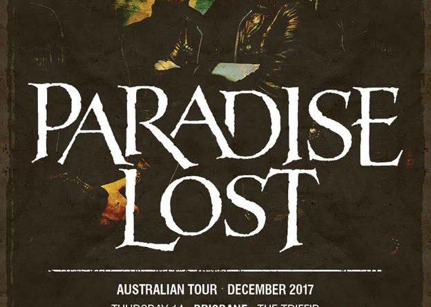 Paradise Lost Australian tour 2017