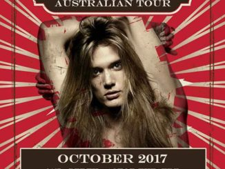 Sebastian Bach Australian tour 2017