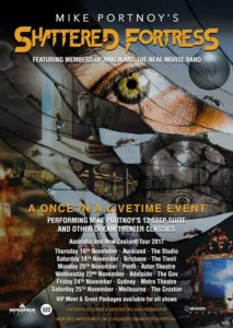 Mike Portnoy's The Shattered Fortress Australian tour 2017