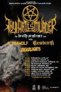 Thy Art Is Murder Australian tour 2017