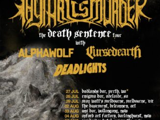 Thy Art Is Murder Australian tour 2017