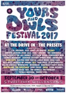 Yours & owls Festival 2017