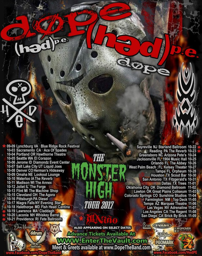 Hope Hed PE tour