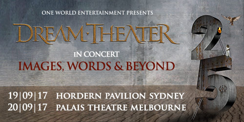 Dream Theater - Images, words and beyond 25th anniversary tour