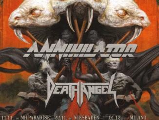 Testament Annihilator Death Angel