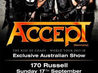 Accept Australian Show Melbourne 2017