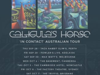Caligulas Horse Australia tour 2017
