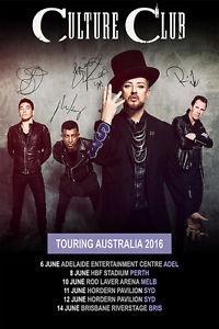 Culture Club Australia tour 2017