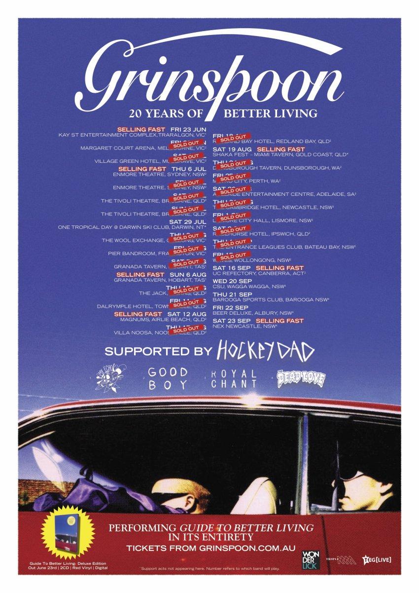 Grinspoon Australia tour