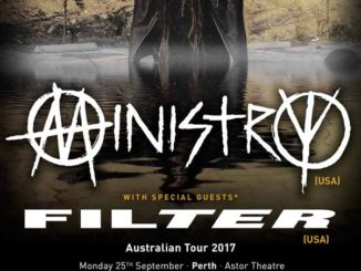 Ministry - Filter - Australian tour 2017