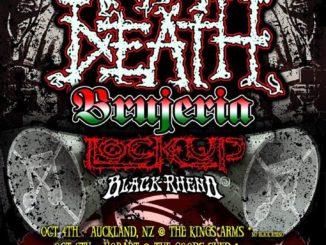 Napalm Death Australian tour