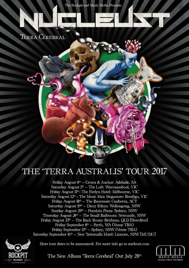 Nucleust - Terra Australis tour