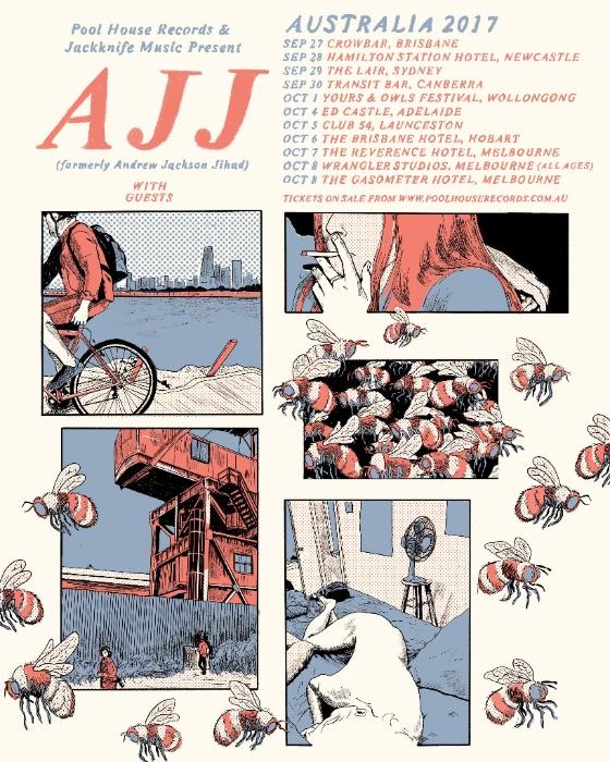 AJJ Australian tour