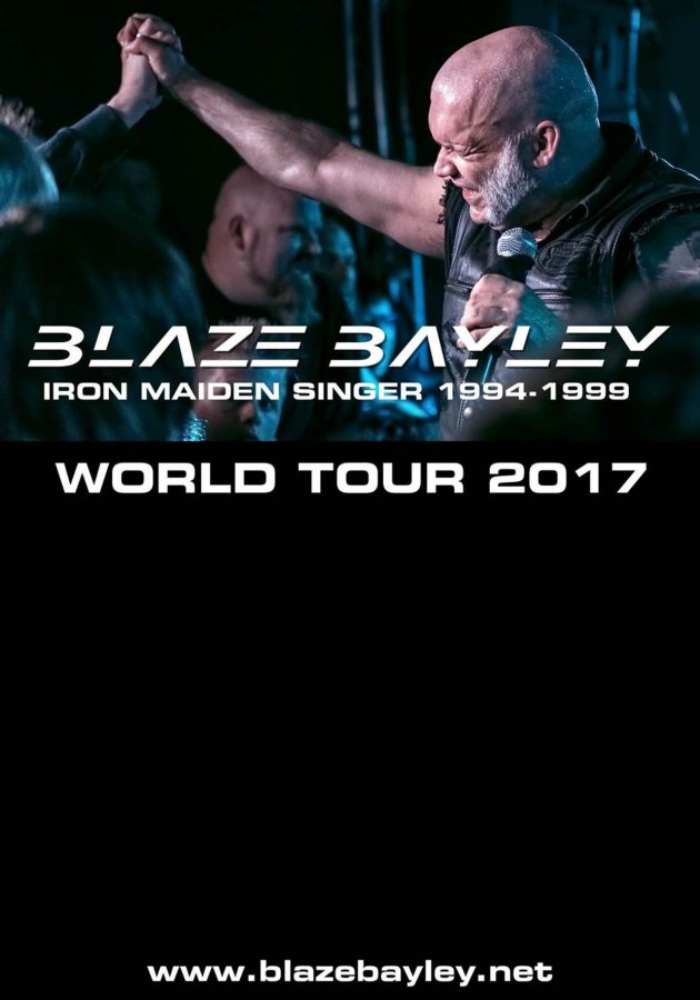 Blaze Bailey tour