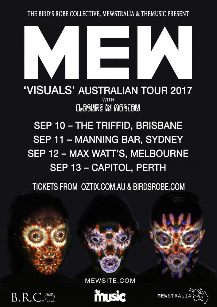 Mew Australian tour