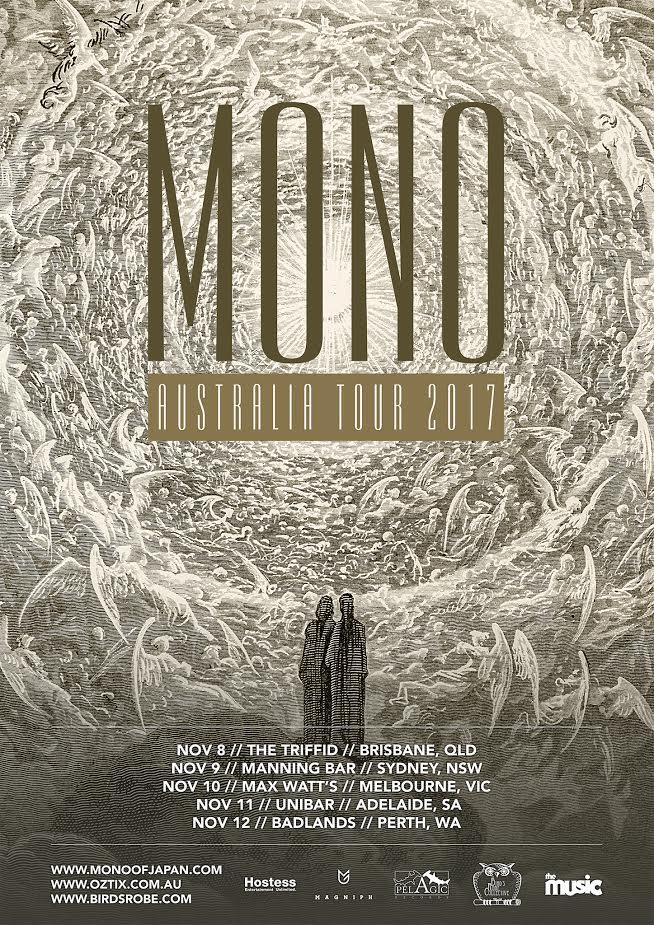 Mono Australian tour 2017